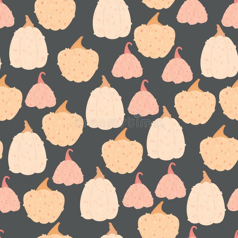 Картина красочных тыкв безшовная стоковое фото