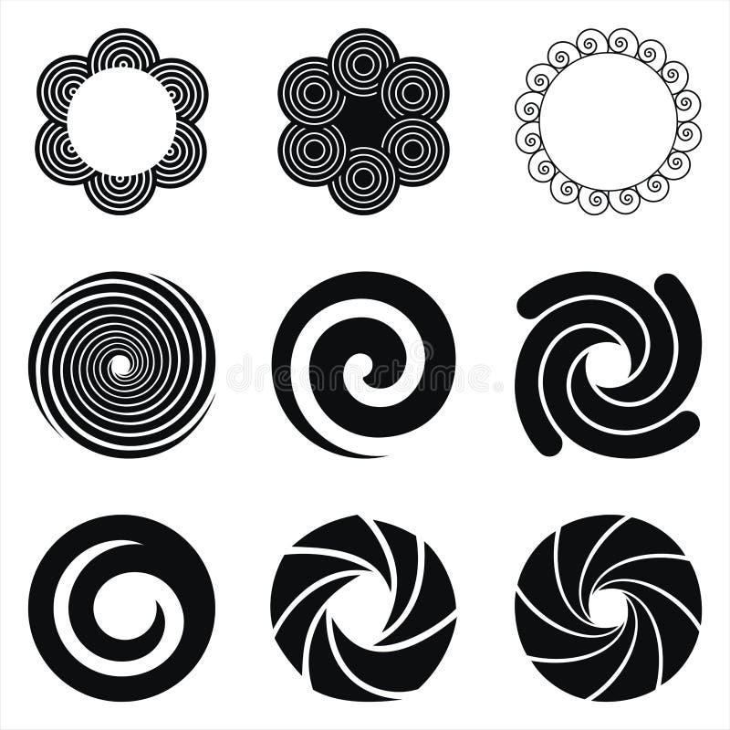 Картина круга иллюстрация вектора