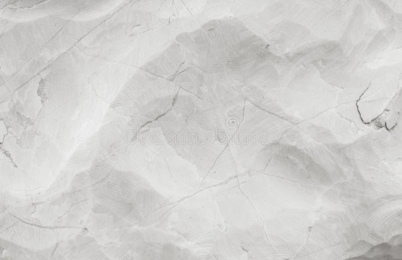 Картина крупного плана поверхностная абстрактная мраморная на мраморном камне для украшает в предпосылке текстуры сада в черно-бе стоковые изображения