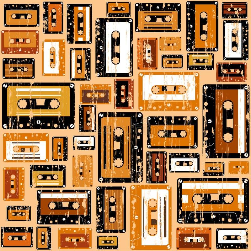 Картина ленты кассеты. бесплатная иллюстрация