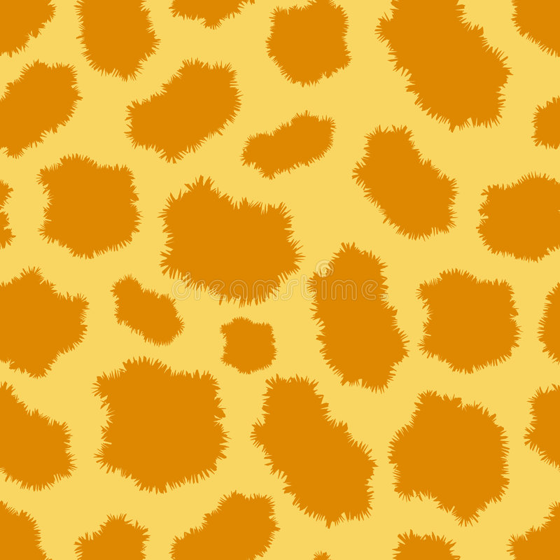 картина леопарда шерсти безшовная иллюстрация вектора