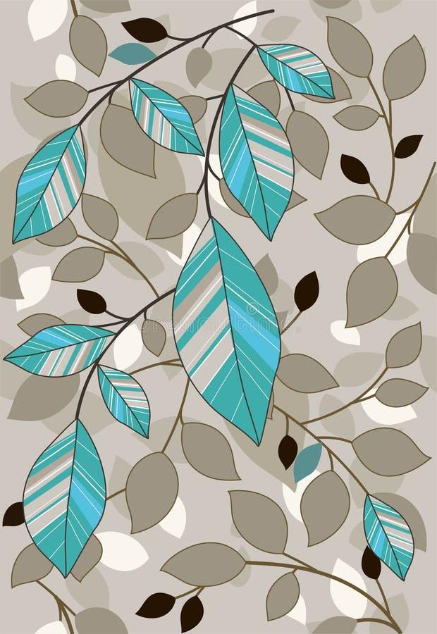 картина листьев иллюстрация штока