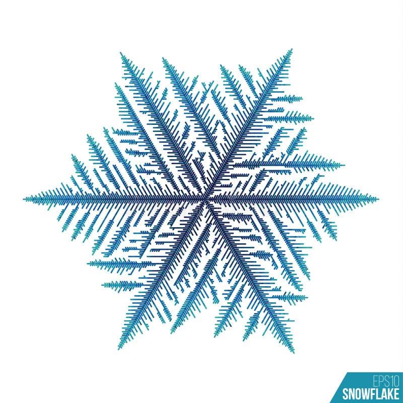 Картина льда Abtract Предпосылка снега вектора Линия картина зимы стиля бесплатная иллюстрация