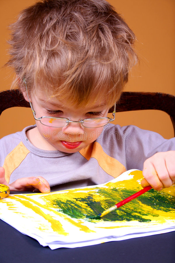 картина мальчика стоковые изображения rf