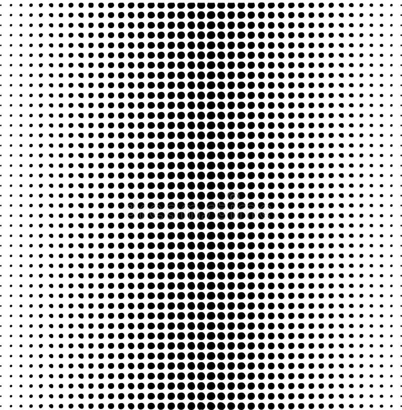 Картина многоточий вектора иллюстрация штока