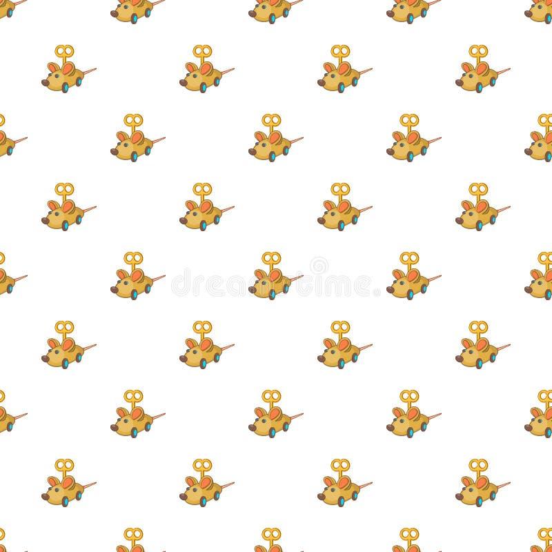 Картина мыши Clockwork, стиль шаржа бесплатная иллюстрация