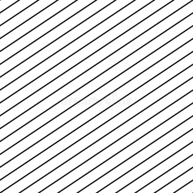 Картина нашивки вектора безшовная Повторите линии диагонали параллельные бесплатная иллюстрация