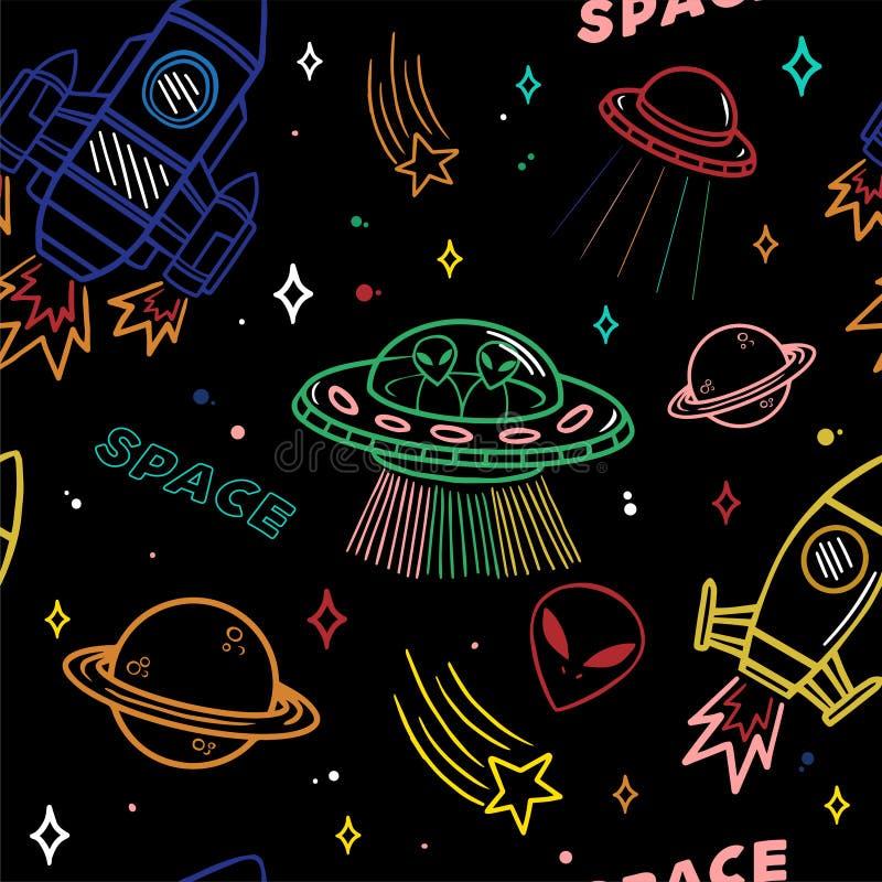 Картина на теме космоса бесплатная иллюстрация