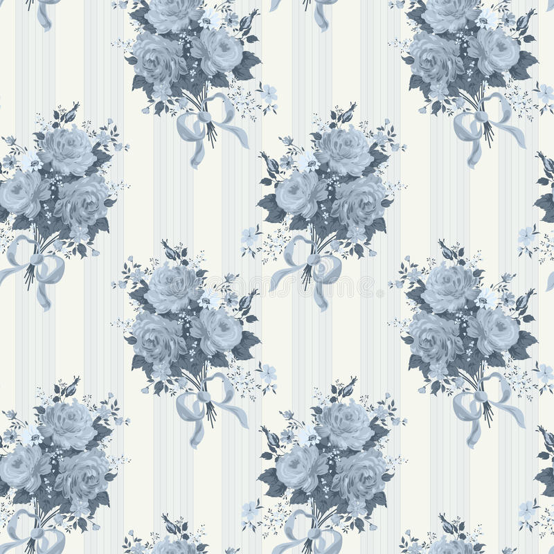 Картина обоев года сбора винограда розовая Предпосылка в сини бесплатная иллюстрация