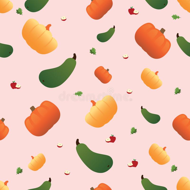 Картина овоща безшовная Вегетарианский набор продуктов рынка фермы иллюстрация вектора