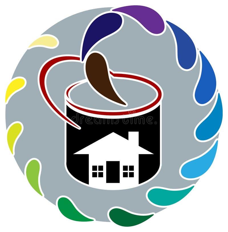 Картина дома бесплатная иллюстрация