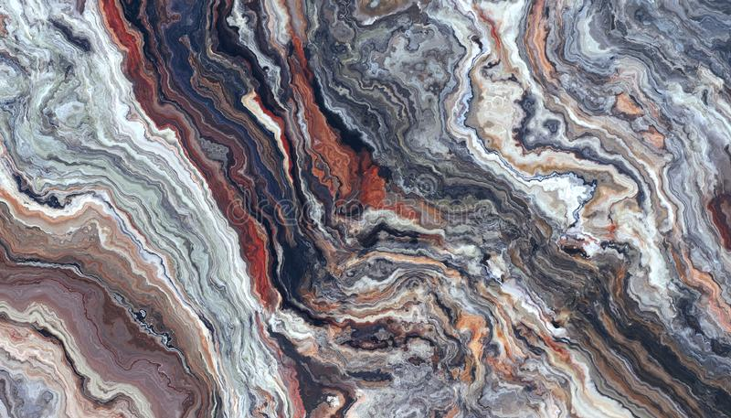 Картина оникса каменная красочная бесплатная иллюстрация