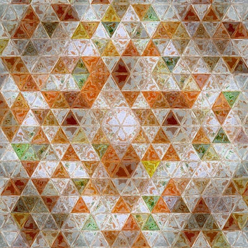 Картина осени предпосылки современной геометрической прокладки треугольника оранжевая бесплатная иллюстрация