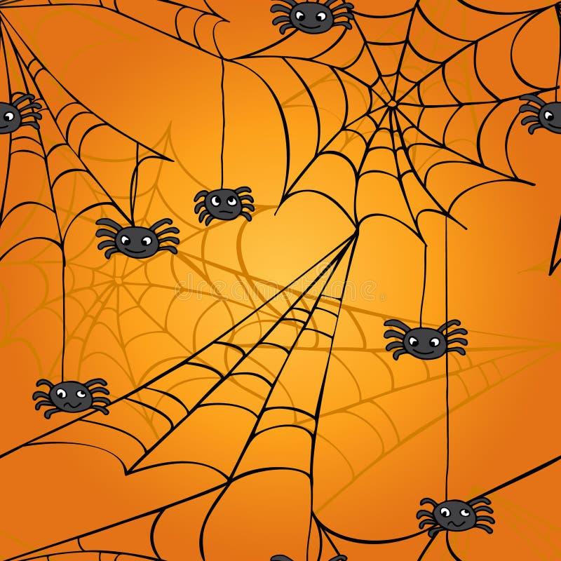 Картина паутины безшовная бесплатная иллюстрация