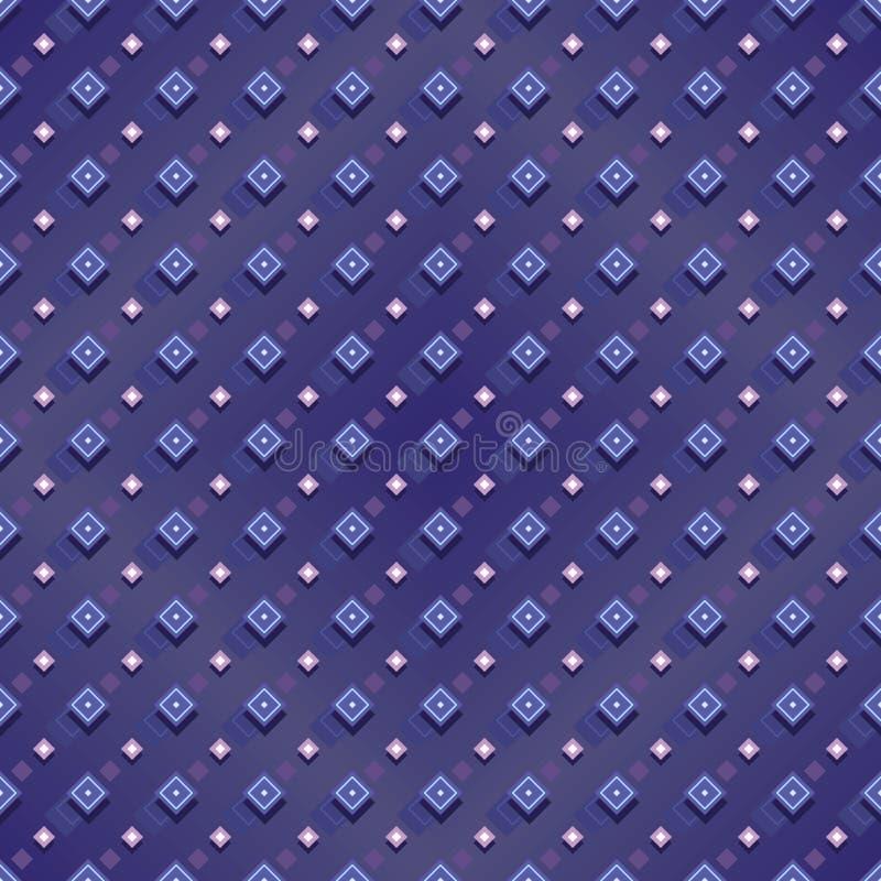 Картина падения формы диаманта безшовная иллюстрация вектора
