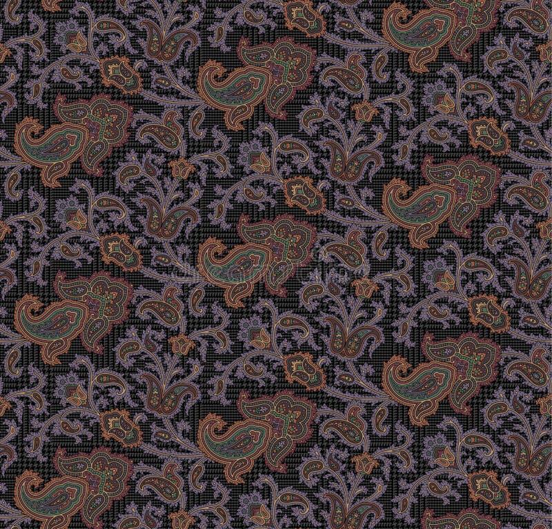 Картина Пейсли стоковое изображение rf