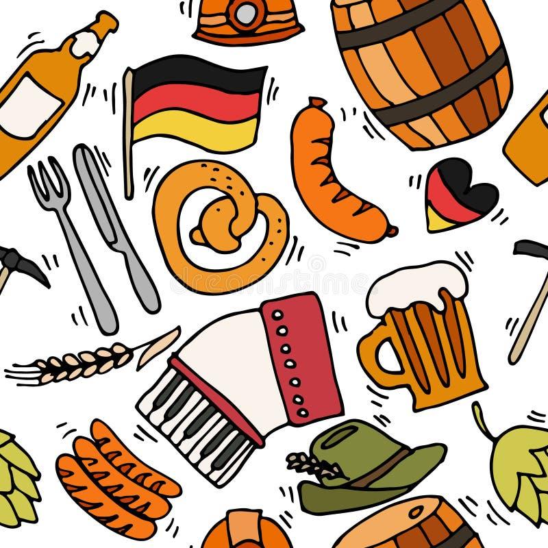 Картина перемещения Германии иллюстрация вектора