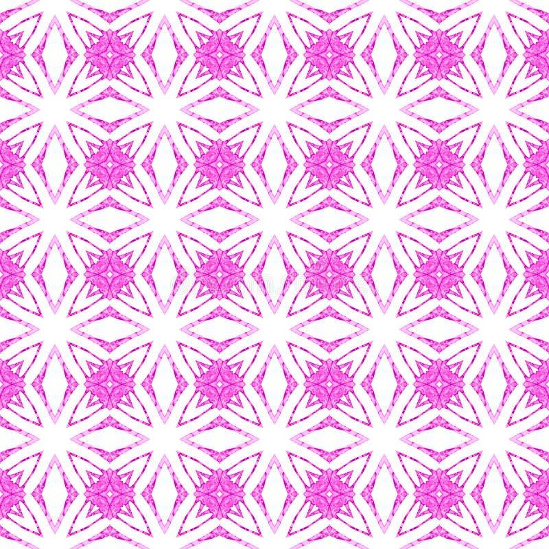 Картина пинка геометрическая безшовная Waterc руки вычерченное бесплатная иллюстрация