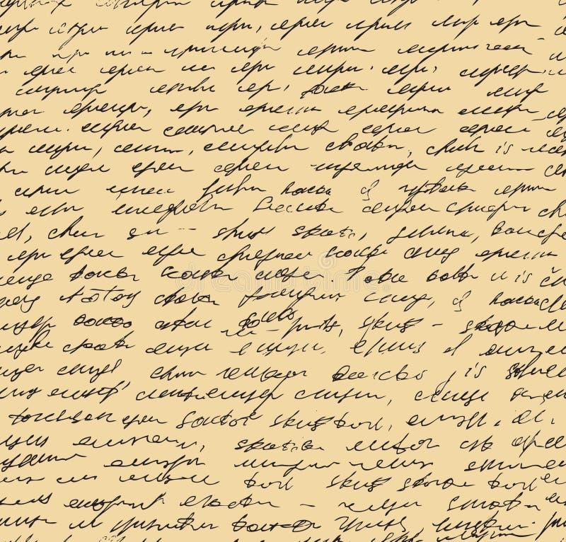 Картина письма. Предпосылка сценария безшовная иллюстрация штока