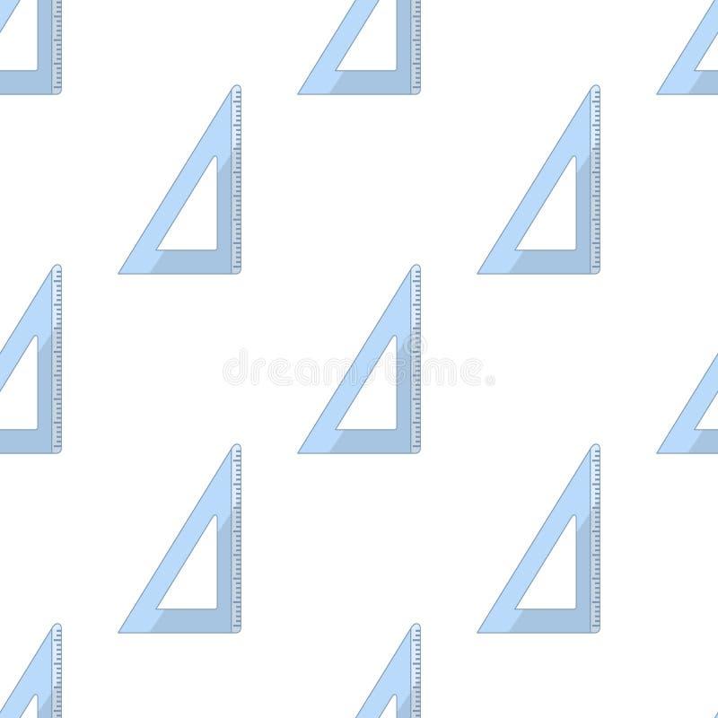 Картина плоского значка треугольника безшовная бесплатная иллюстрация