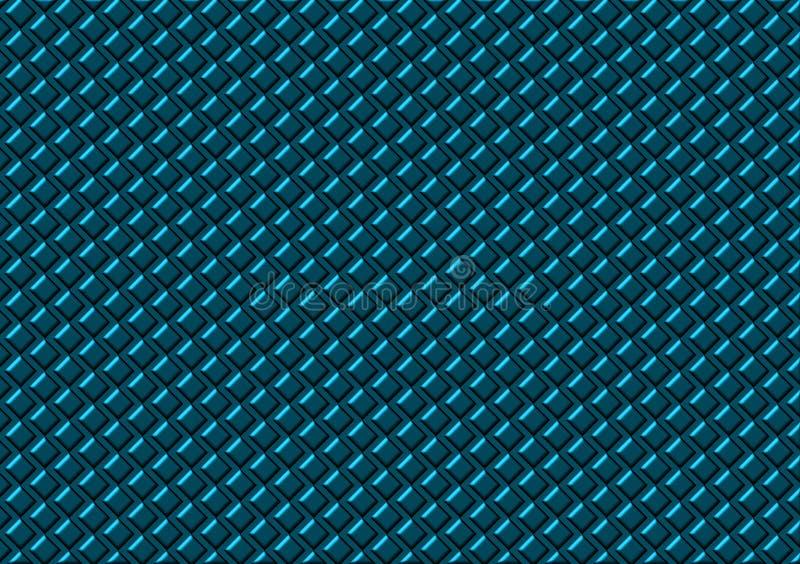 Картина покрашенная бирюзой проверила обои иллюстрация вектора