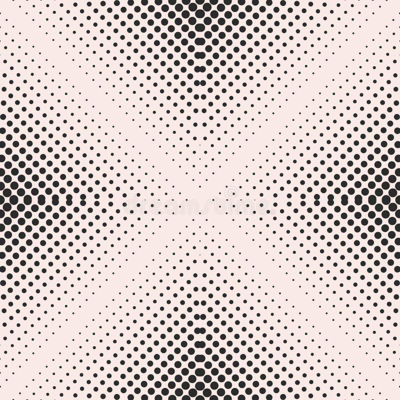 Картина полутонового изображения безшовная, постепенно переходной эффект иллюстрация штока
