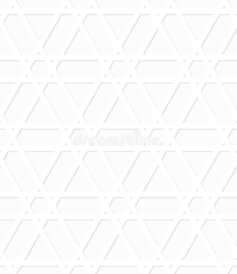 Картина полутонового изображения вектора безшовная арабская. Простой de иллюстрация вектора