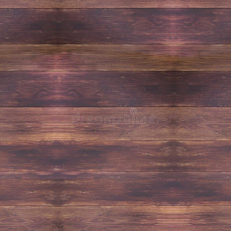Картина предпосылки безшовного высококачественного высокого разрешения деревянная иллюстрация вектора