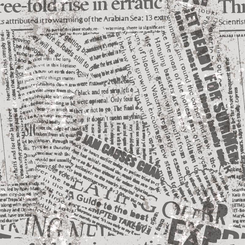 Картина предпосылки газеты иллюстрация штока