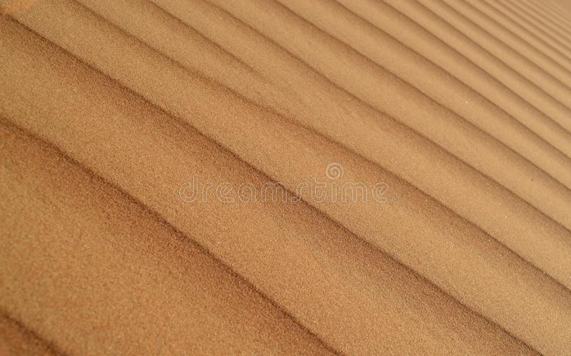 Картина предпосылки песчанной дюны пустыни стоковая фотография