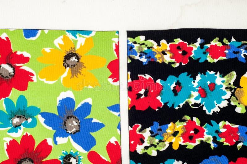 Картина предпосылки текстуры Точная silk ткань, цветочный узор te стоковые изображения rf