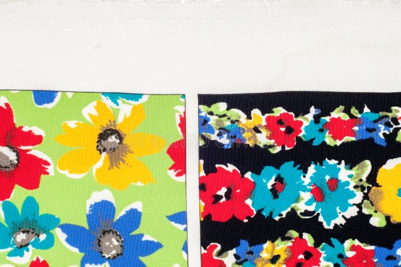 Картина предпосылки текстуры Точная silk ткань, цветочный узор te стоковое фото rf