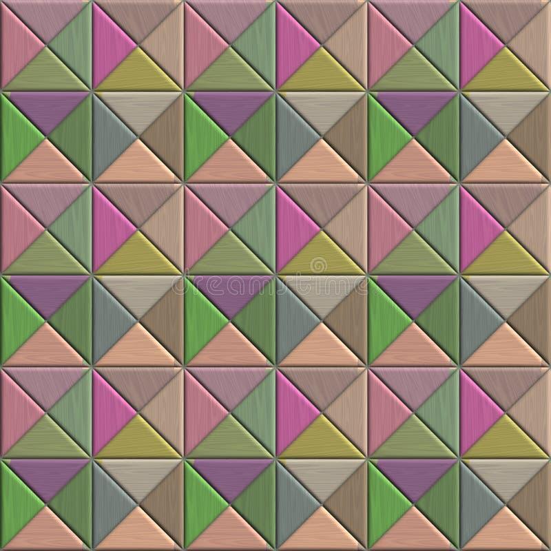 картина предпосылки цветастая иллюстрация вектора