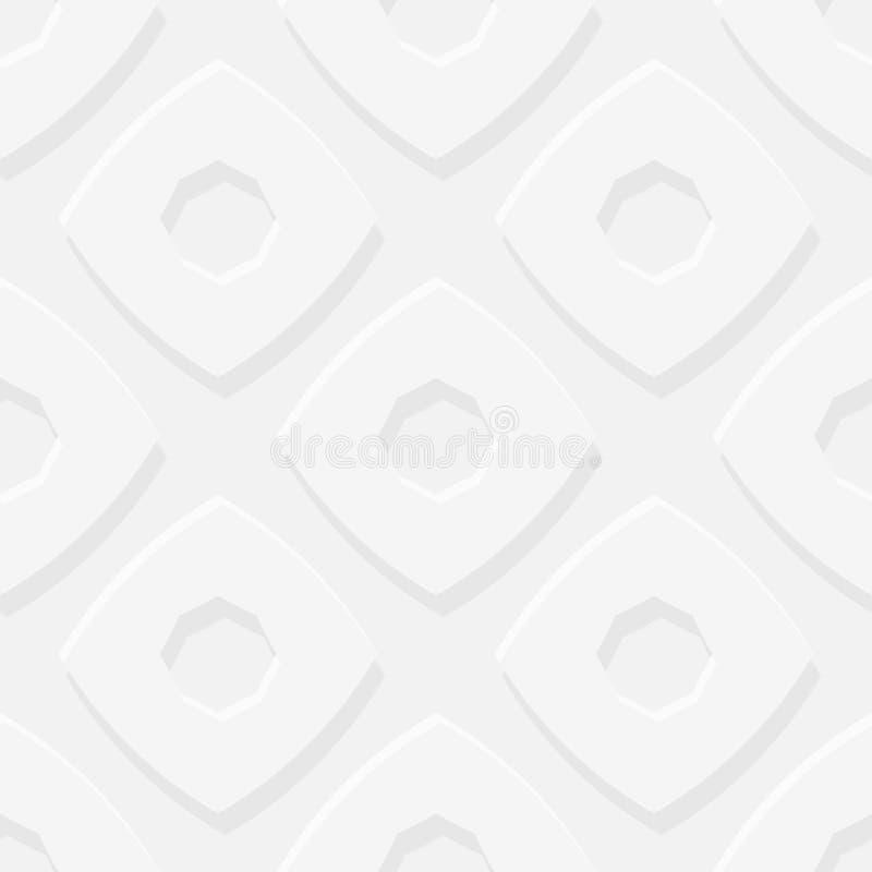 Картина простого геометрического вектора безшовная - серый том вычисляет b бесплатная иллюстрация