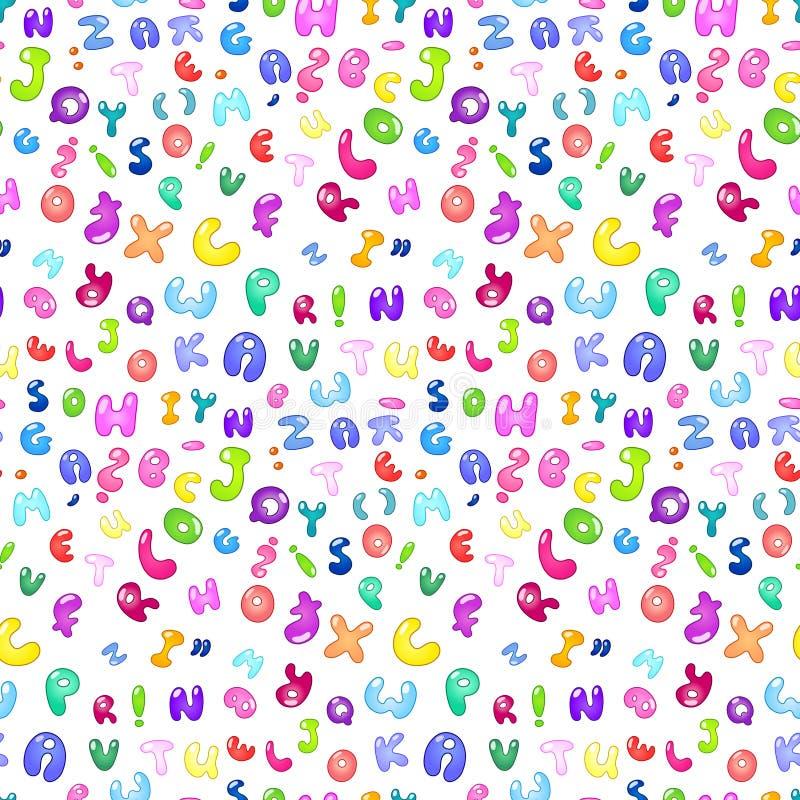 картина пузыря abc иллюстрация вектора
