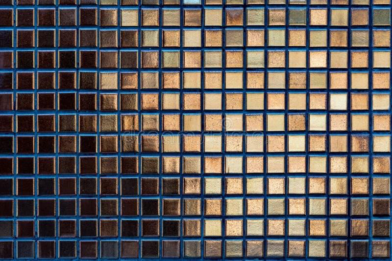 Картина плиток мозаики золота стоковые фотографии rf