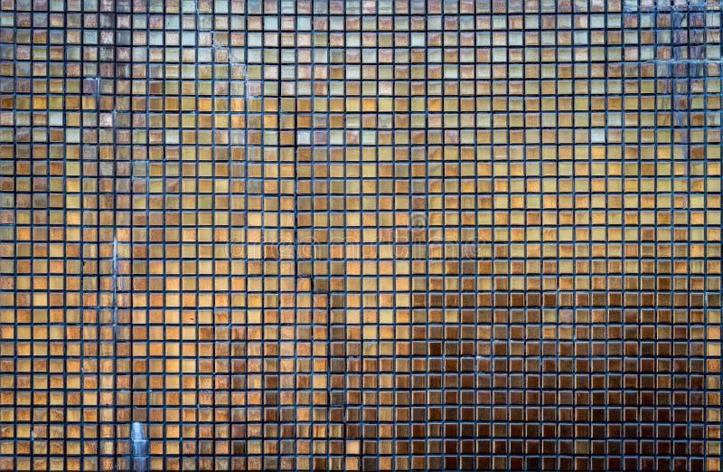 Картина плиток мозаики золота стоковые изображения rf