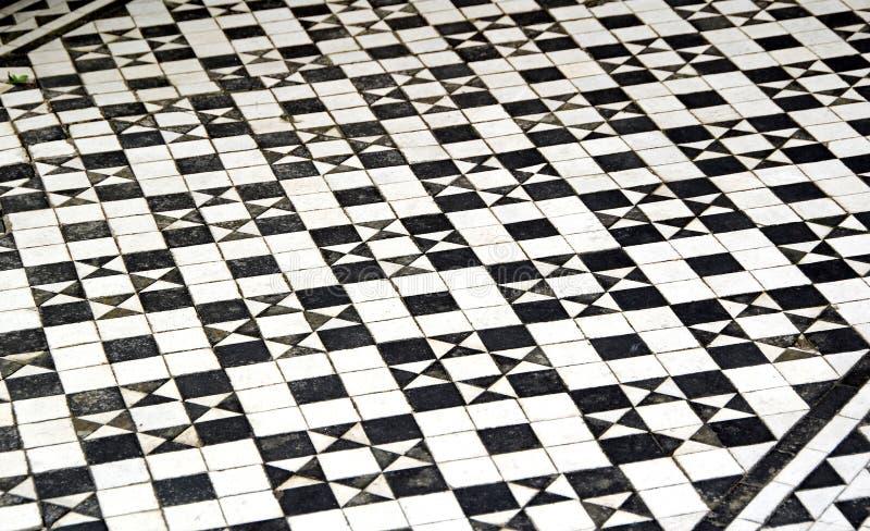 Картина плиток пола мозаики иллюстрация штока