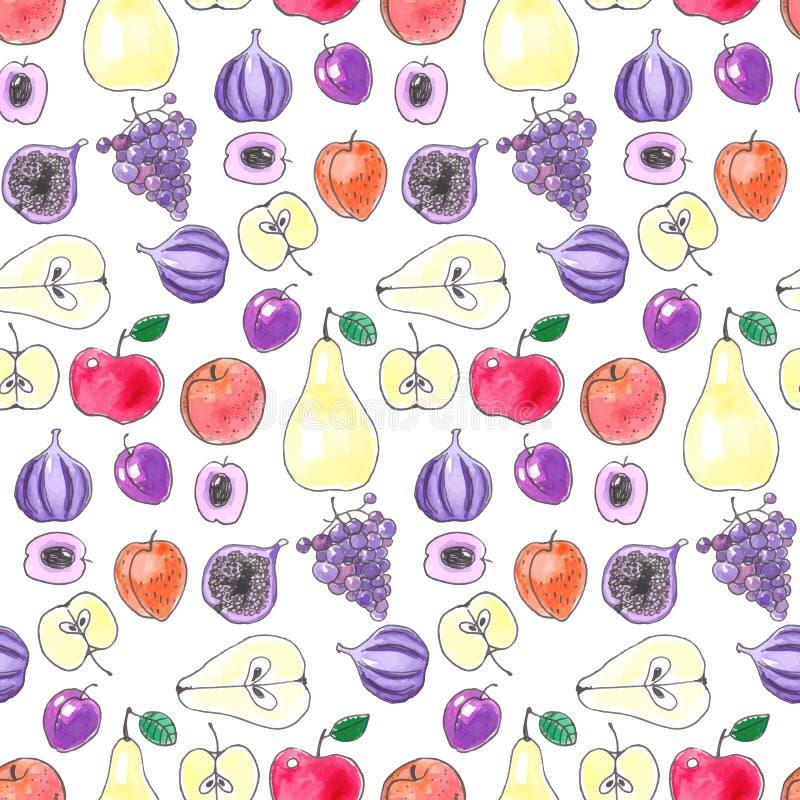 Картина плодоовощ иллюстрация вектора