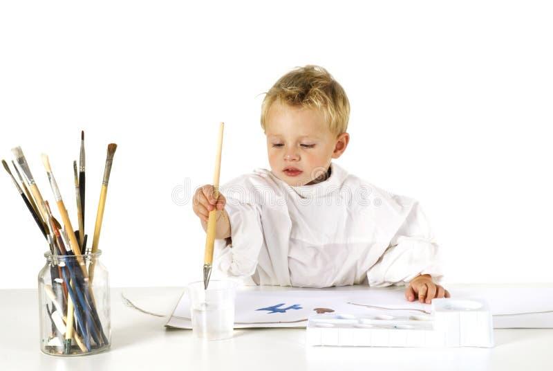 картина ребенка стоковое фото