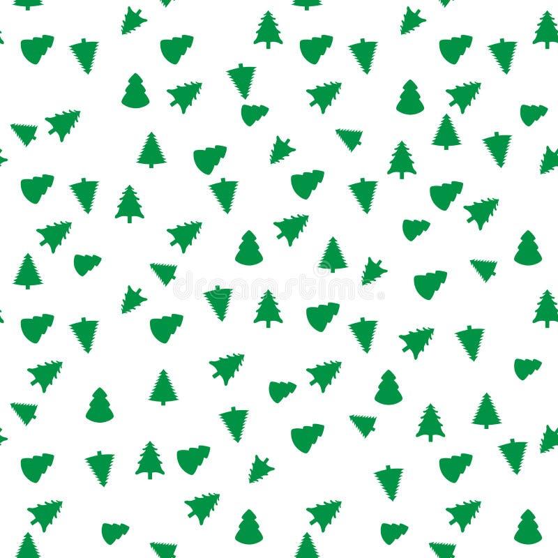 Картина рождественской елки геометрическая безшовная График моды также вектор иллюстрации притяжки corel Конструкция предпосылки  бесплатная иллюстрация