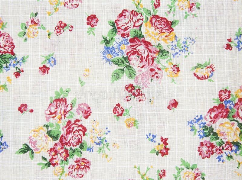 Картина розового дизайна букета безшовная на ткани как предпосылка иллюстрация штока