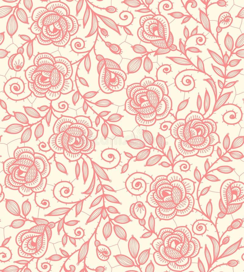 Картина роз шнурка безшовная бесплатная иллюстрация