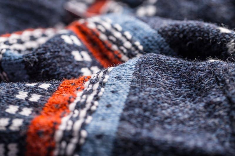 Картина свитера шерстей стоковое фото rf