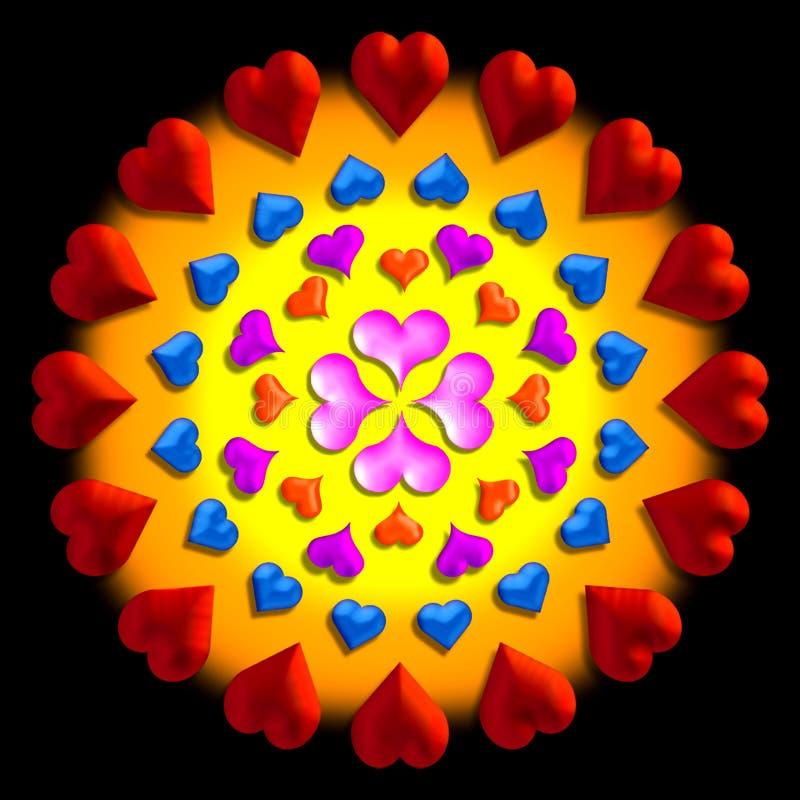 Download картина сердца иллюстрация штока. иллюстрации насчитывающей valentines - 480820