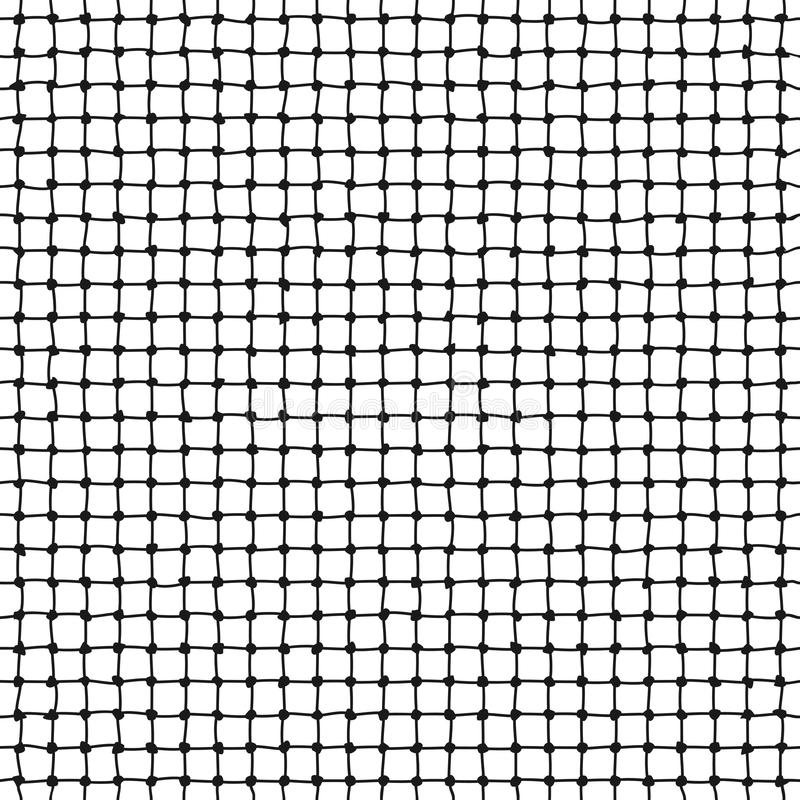 Картина сетчатого вектора веревочки безшовная бесплатная иллюстрация