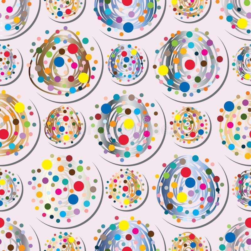 Картина симметрии точки безшовная бесплатная иллюстрация