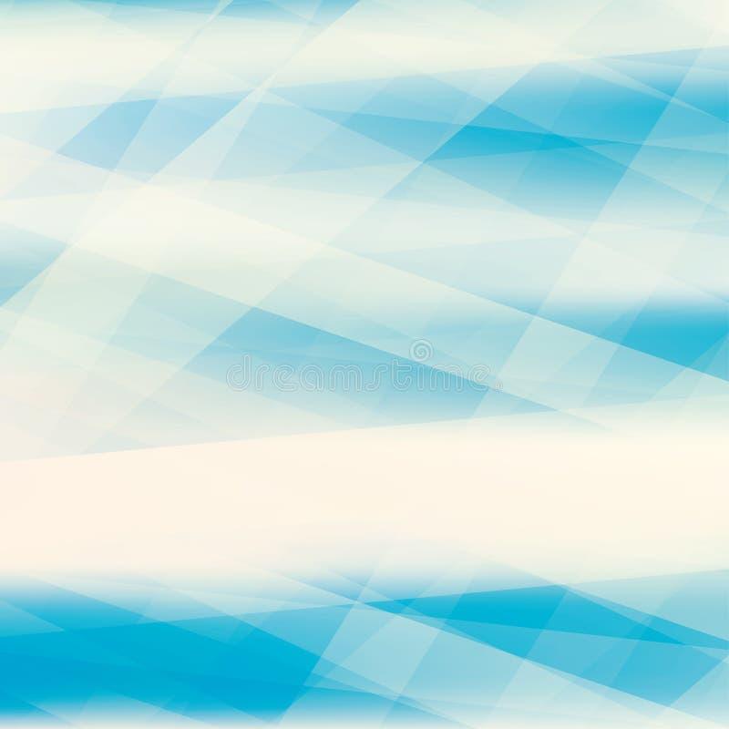 Картина сини бирюзы текстурированная нашивками Предпосылка вектора иллюстрация вектора