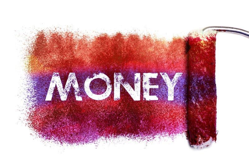 Картина слова денег бесплатная иллюстрация
