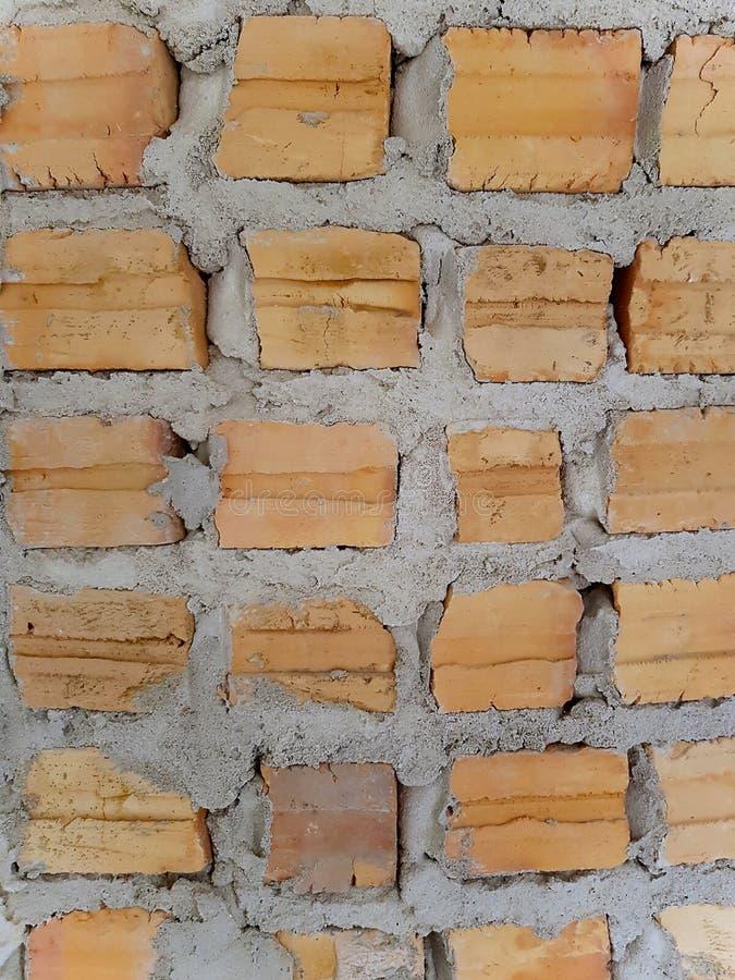Картина стены bricklaying стоковые фотографии rf